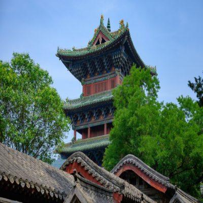Шаолиньский монастырь Китай
