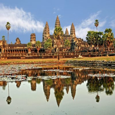 Ангкор Ват Камбоджа для слайдера