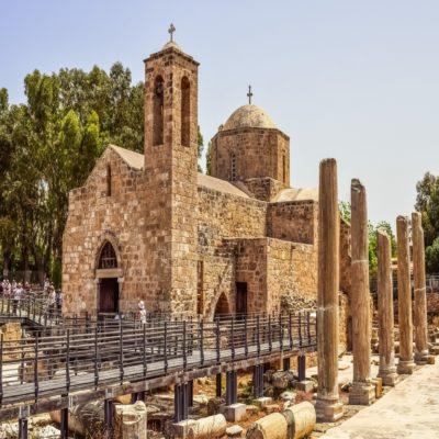 Археологический парк в Пафосе Кипр
