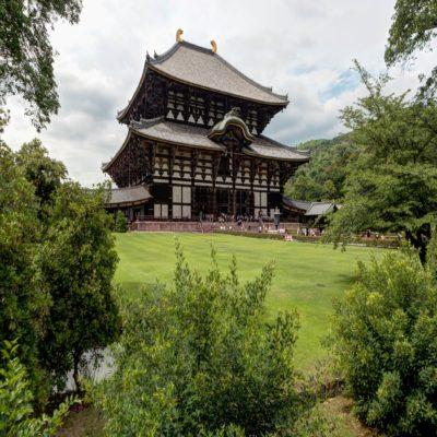 Храм Тодай-Дзи в Наре Япония