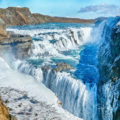 Водопад Гюдльфосс Исландия