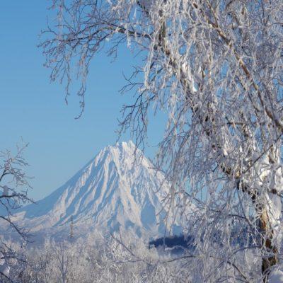 Для оформления Вулкан Корякский Камчатка Россия