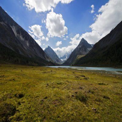 Аккемское озеро Алтай Россия