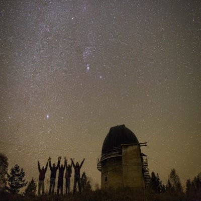 Звездное небо Архыз Россия