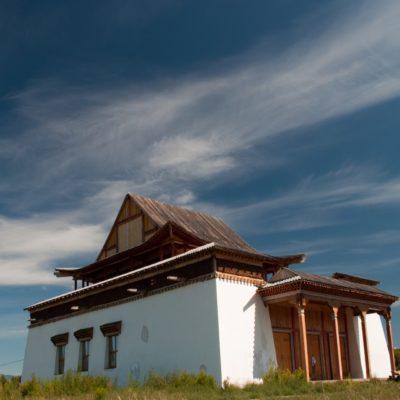 Буддийский монастырь Устуу-Хурээ Тыва Россия