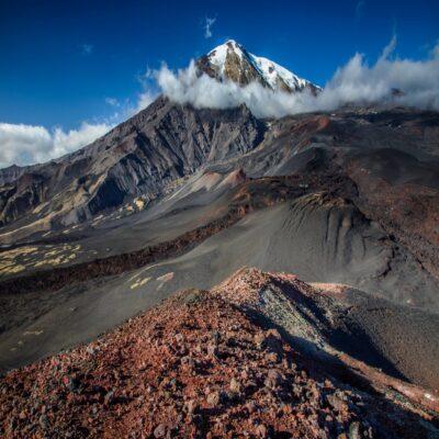 Инопланетные пейзажи вулкана Толбачик Камчатка Россия