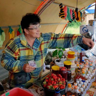 Рынок в Минусинске Красноярский край Россия