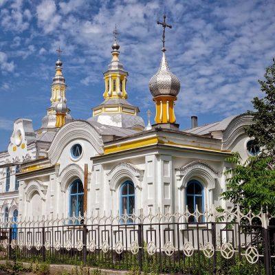 Спасский собор в Минусинске Красноярский край Россия