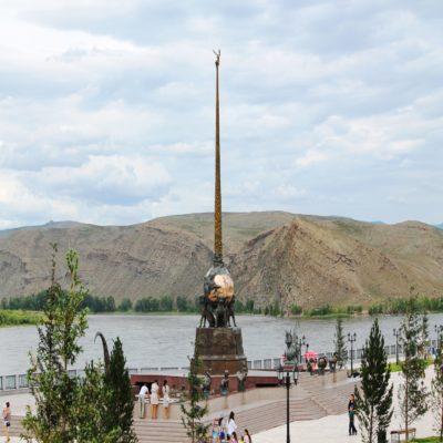 Центр Азии в Кызыле Тыва Россия