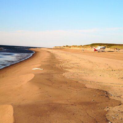 Берег Баренцева моря НАО Россия