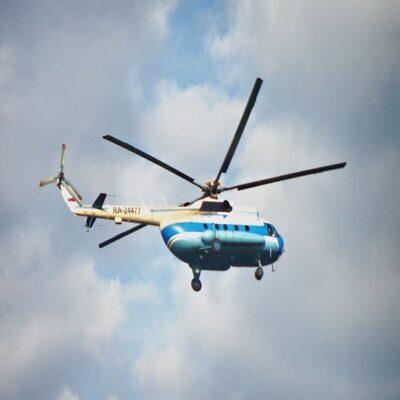Вертолет МИ 8Т НАО Россия