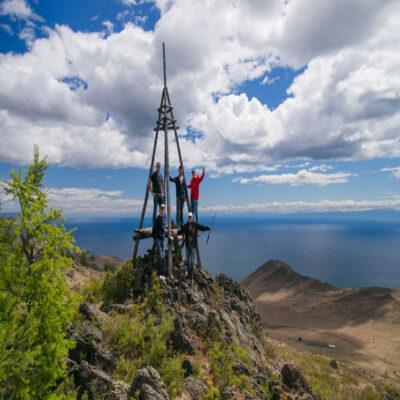 Гора Тан-Хан и Тажеранские степи Россия