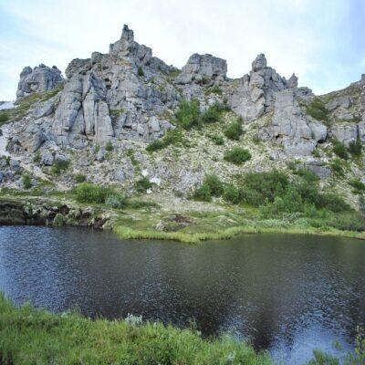 Каньон реки Белой НАО Россия