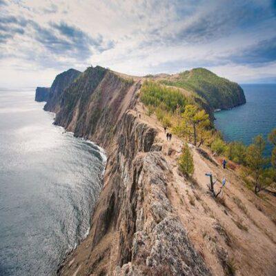 Мыс Хобой на острове Ольхон Россия