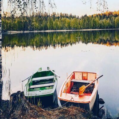 Озеро Карелия Россия