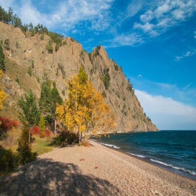 Осенний Байкал Россия