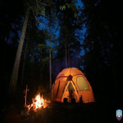 Палаточный лагерь Россия