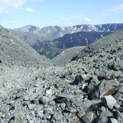 Перевал Южный Чоргорр Хибины Россия