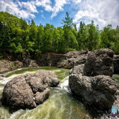 Река Кема Россия