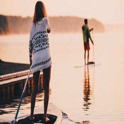SUP серфинг Карелия Россия