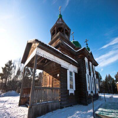 Архитектурно этнографический-музей «Тальцы» Иркутск Россия