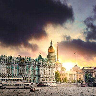 Дворцовая набережная Санкт Петербург