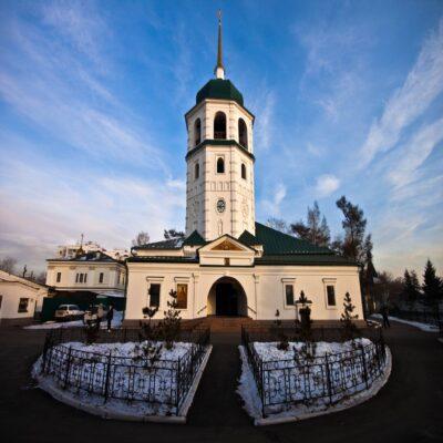 Знаменский монастырь в Иркутске Россия