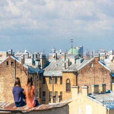 Крыши Петербурга Россия