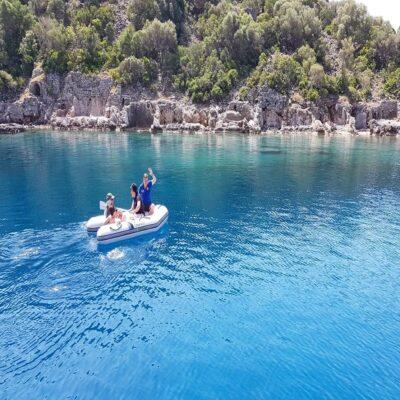 Остров Гемиле Турция