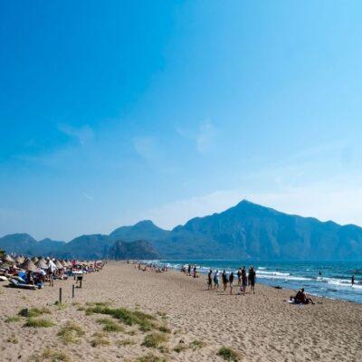 Пляж Изтузу в Дальяне Турция