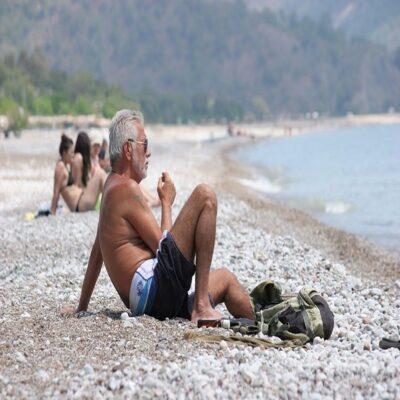 Пляж Олимпоса Анталия Турция