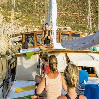 Практика на палубе Турция