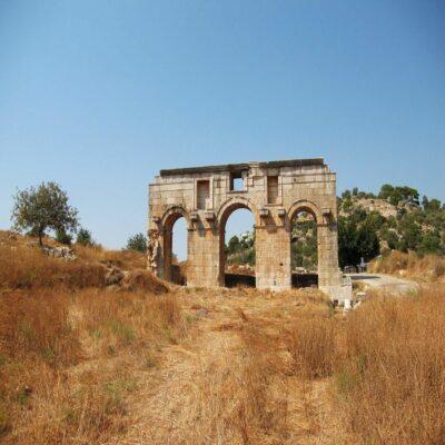 Руины Патары Турция