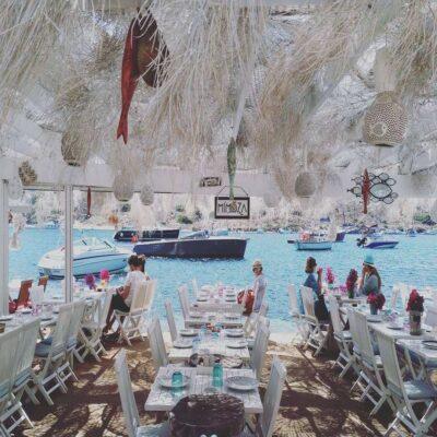 Рыбный ресторан Гюмюшлюка Бодрум Турция