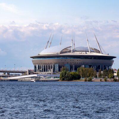 Стадион «Газпром Арена» Санкт Петербург Россия