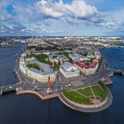 Стрелка Васильевского острова Санкт Петербург