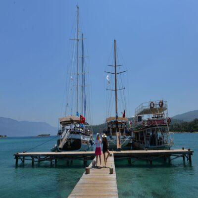 Яхты и кораблики Турция