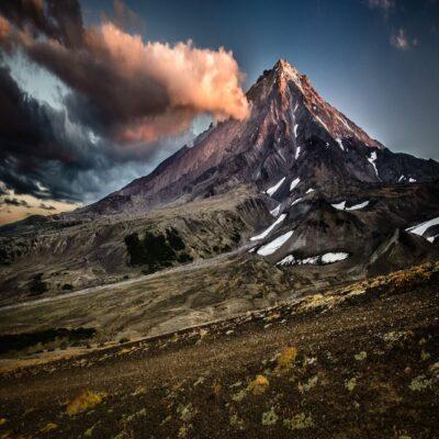 Авачинский перевал Камчатка Россия