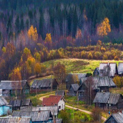 Вепсская деревня 2 Веспы Ленинградская область Россия