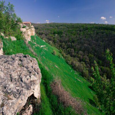 Пещерный город Чуфут Кале 1 Крым Россия