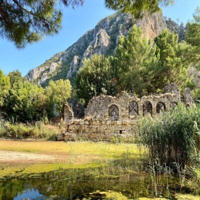 Руины Олимпоса Турция