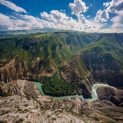 Сулакский каньон Дагестан Россия