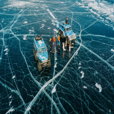ТРЭКОЛы на льду