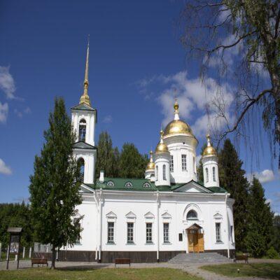 Церковь Преображения Господня в деревне Пидьма Веспы Ленинградская область Россия