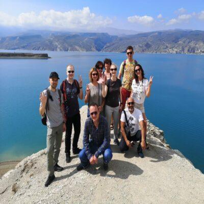 Чиркейское водохранилище Дагестан Россия