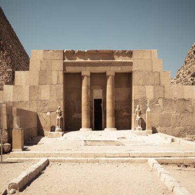 Долинный Храм в Гизе Египет