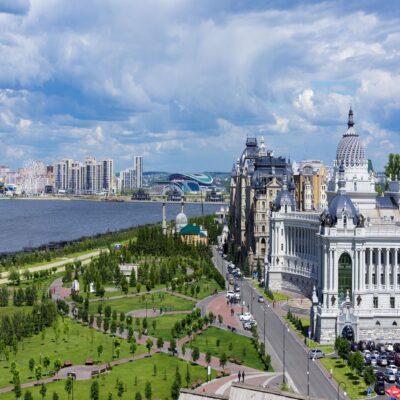 Казань город на Волге Татарстан