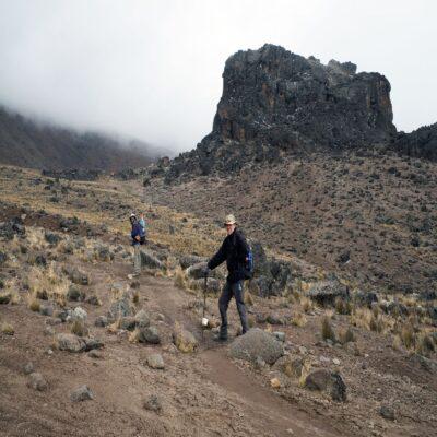 Лава Тауэр Килиманджаро Танзания