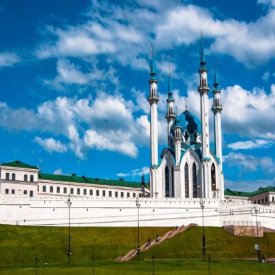 Мечеть Кул-Шариф Казань Волга Татарстан