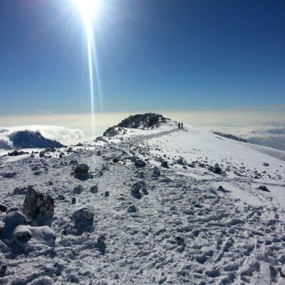 На вершине Африки Килиманджаро Танзания